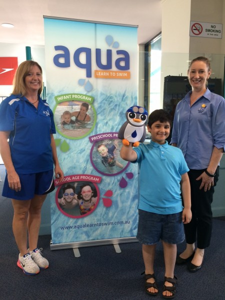 Blacktown's record Aqua Learn to Swim enrolments