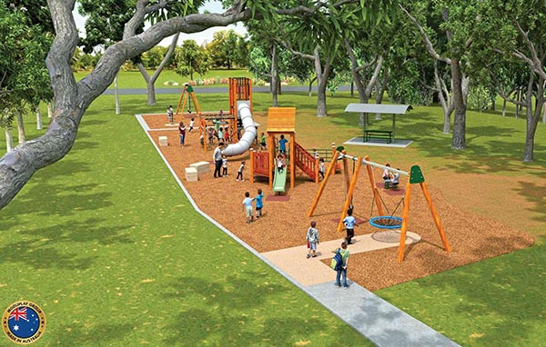 Upgrades commence on Blacktown playgrounds