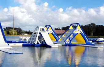 Aquaglide products equip water playgrounds for summer
