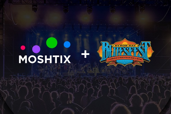 Byron Bay Bluesfest names Moshtix as exclusive ticketing partner