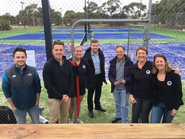 Courts reopened at Mornington Peninsula Boneo Tennis Club