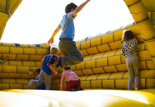 ASTM International Standard for inflatable attractions to be adopted into 2024 International Fire Code