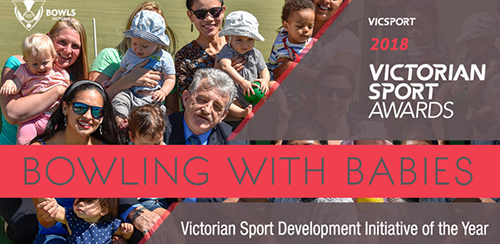 Bowling with Babies program awarded Sport Development Initiative of the Year