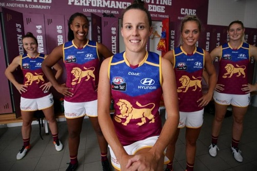 Lions AFLW team base to be backed by $15 million in Federal Government funding