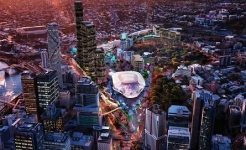 Plans revealed for new $2 billion 'Brisbane Live