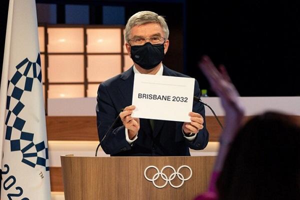 Brisbane Olympic bid secures 72 of IOC member's 77 votes for 2032 Games hosting