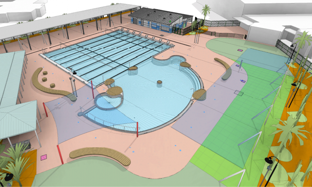 Work underway on upgrade to Broome Recreation and Aquatic Centre