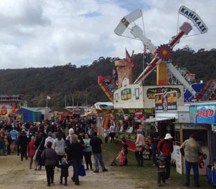 Showman's Guild of Tasmania makes assurances on carnival ride safety