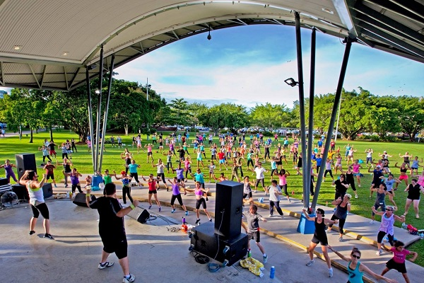 Free exercise program popular in Cairns