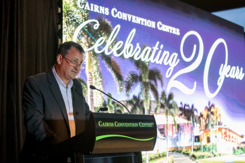 20 year celebrations for Cairns Convention Centre