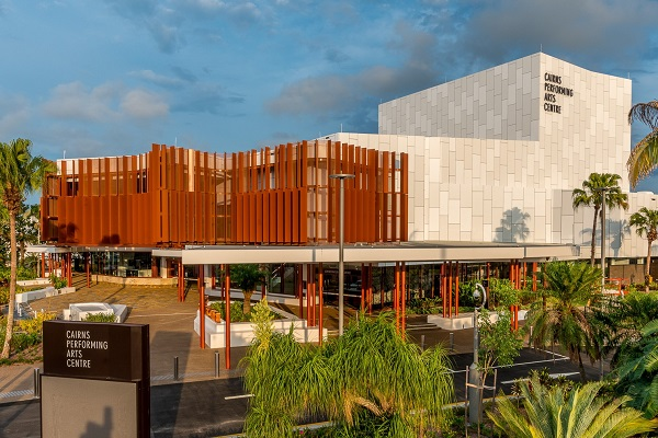 Cairns Performing Arts Precinct secures urban design award