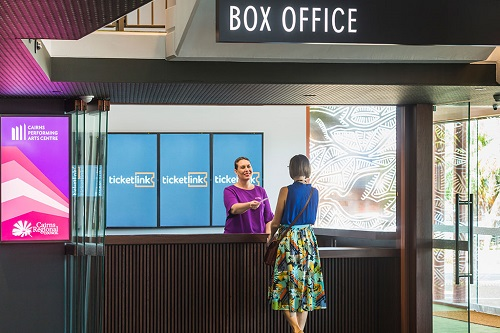 Ticketlink relocates to new Cairns Performing Arts Centre