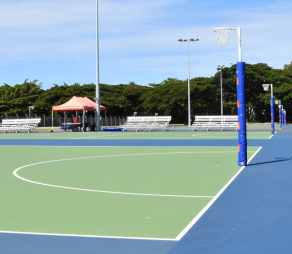 New roof will see Cairns netball centre upgraded to an all-weather facility