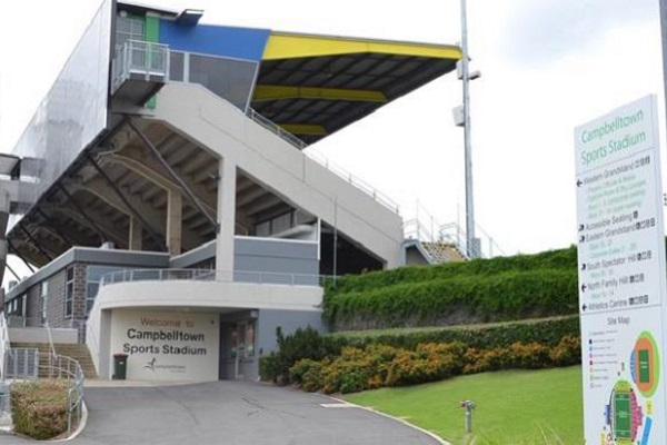Exclusive Naming rights sponsor: Campbelltown Sports Stadium