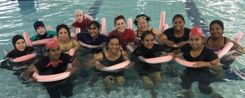 Western Australian swimming programs engage CaLD women