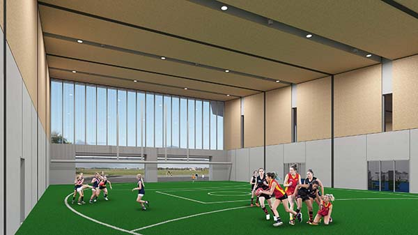 Casey Fields to receive $8 million venue upgrade in support of elite women's football
