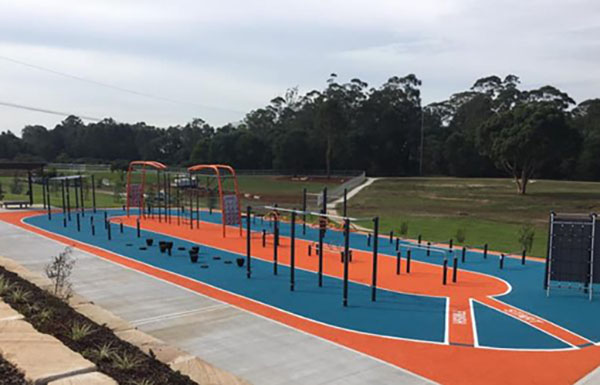KOMPAN's Ninja Circuit included in new $4 million adventure playground in Casula