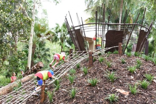 New Nature Play space opens in Cairns