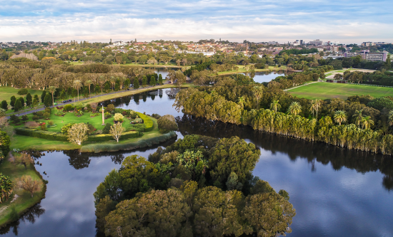 World Urban Parks awards international gold star of approval to Sydney's Centennial Parklands