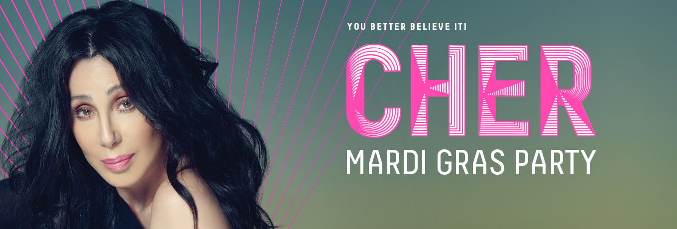 Cher to headline 40th Anniversary Mardi Gras party