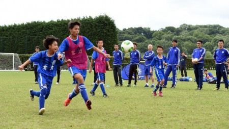 China advances massive investment in youth football development