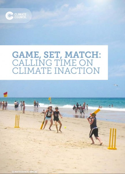 Climate Council releases new report on the affects of climate change on Australian Sport