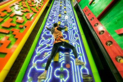 Clip 'N Climb Melbourne celebrates first birthday on high