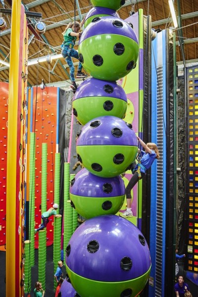 Clip 'n Climb welcomes opening of 100th centre