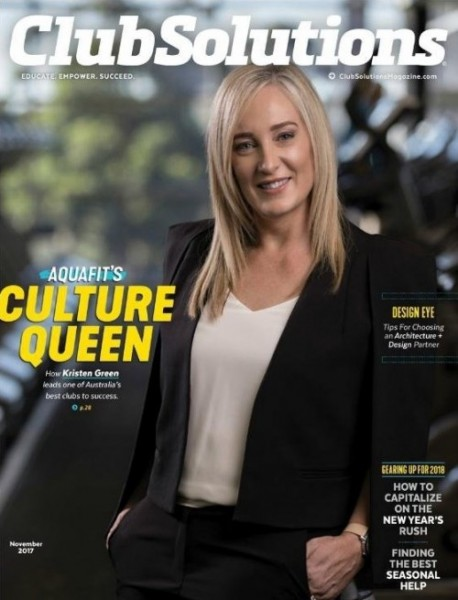 International fitness publication features Western Sydney's Aquafit
