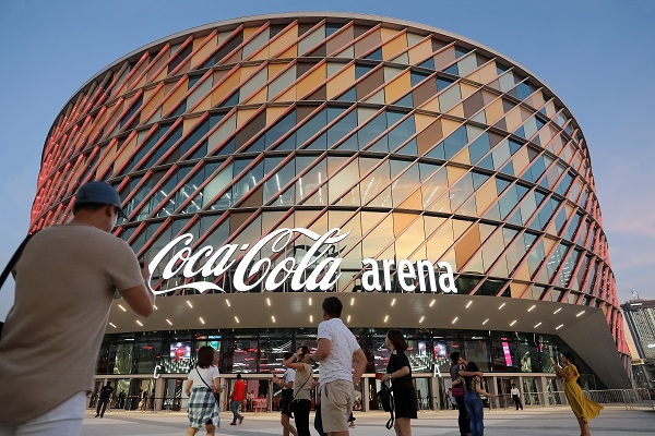 Dubai's Coca-Cola Arena becomes a significant venue on the global events circuit