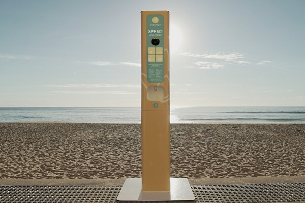 Coffs Harbour City Council introduces sunscreen vending machine