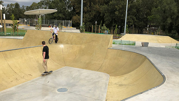 City of Sydney plans for construction of new skate plaza and expanded parklands