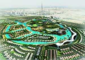 Dubai to build world's largest mega lagoon