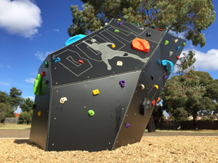 City of Brimbank installs innovative The EDGE climbing feature