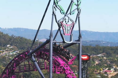 Movie World launches new climb attraction on Southern Hemisphere's tallest HyperCoaster