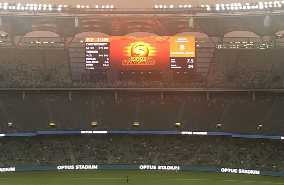 Daktronics LED Display System to enhance Optus Stadium's fan experience