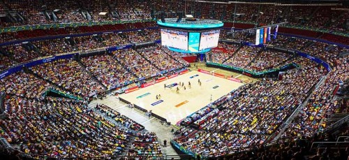 Qudos Bank Arena installs largest centerhung LED Video System in southern hemisphere