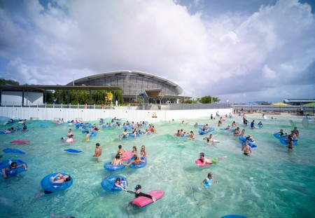 Darwin Wave Lagoon Draws Crowds