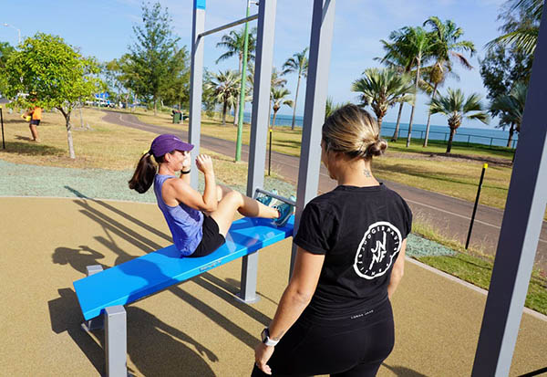 Free Fitness Tutorials launched to accompany Darwin's new outdoor exercise stations