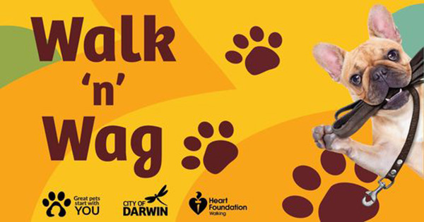 Darwin hosts series of community dog walks to promote healthy lifestyle