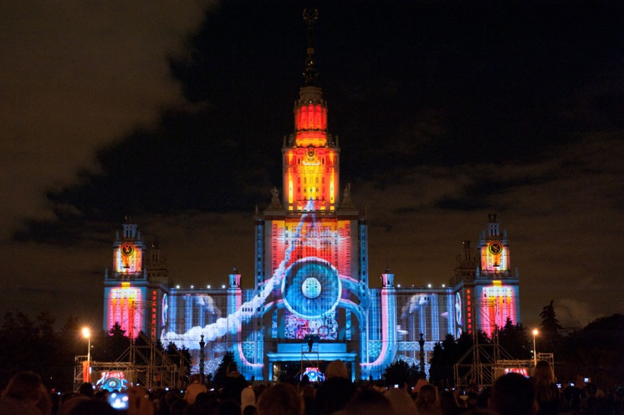 David Atkins Enterprises delivers largest ever 3D video-mapping show