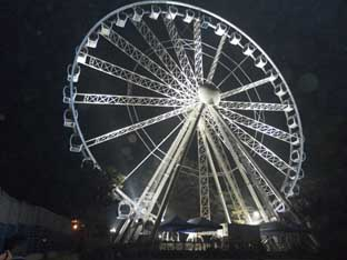 Delhi Eye observation wheel finally opens