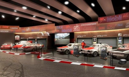 Dreamworld to open interactive motorsport precinct based around Peter Brock cars