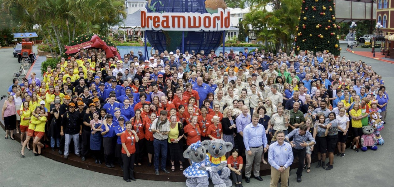 Guests trickle back as Dreamworld reopens