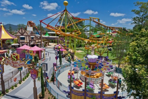 Fine weather boosts performance of Gold Coast theme parks