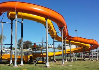 AWL supply waterslides for Dubbo Aquatic Leisure Centre upgrade