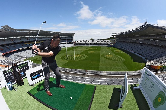 Eden Park converts to a nine-hole golf course to amazing reviews