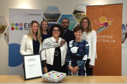 EEAA and Tourism Australia support rising industry stars