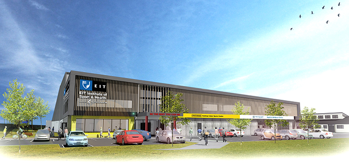 Local financial support for new Hawke's Bay EIT Sport and Health facility