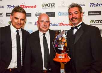 Claudelands named New Zealand's Supreme Venue of the Year